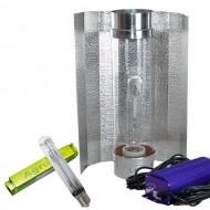 Kit 1000W Lumatek +Regulador para Crecim. y Floración con Cooltube