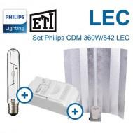 Set Philips CDM-T 360W LEC+ETI CL1 400W+Reflector Stuko