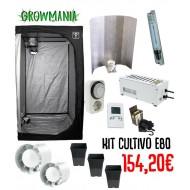 Kit Cultivo Agro Bajo Consumo 80x80x160cm