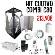 Kit Cultivo Agro Básico 2 - 80x80x160 cm