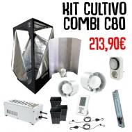 Kit Cultivo Agro Básico 1- 80x80x160cm