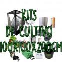 KITS DE CULTIVO 100X100X200CM