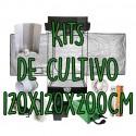 KITS DE CULTIVO 120X120X200CM