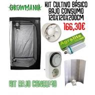 kit Cultivo Básico Bajo Consumo 120x120x200cm