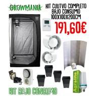 Kit Cultivo Completo Bajo Consumo 100x100x200