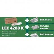 KIT SOLUX LEC 315 W PRO 4200 K