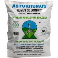 HUMUS DE LOMBRIZ 20 L (10 KG) ASTURHUMUS