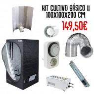Kit Cultivo Básico 2 - 100x100x200 cm
