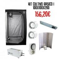 Kit Cultivo Básico 1 - 100x100x200cm