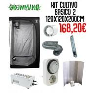 Kit Cultivo Básico 2 - 120x120x200 cm