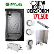 Kit Cultivo Básico 1 - 120x120x200 cm